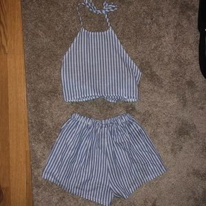 Two piece outfit set
